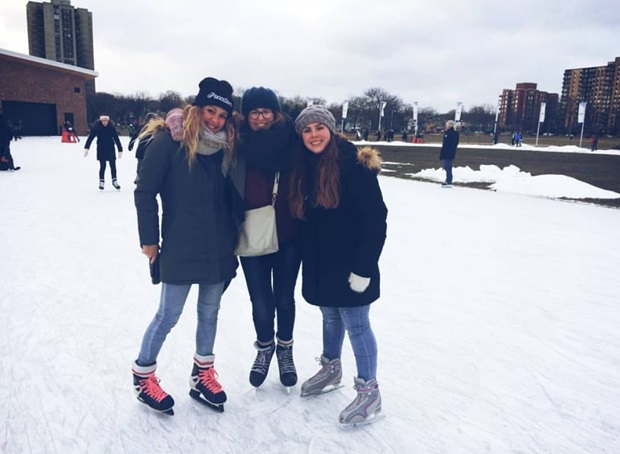 friends on ice