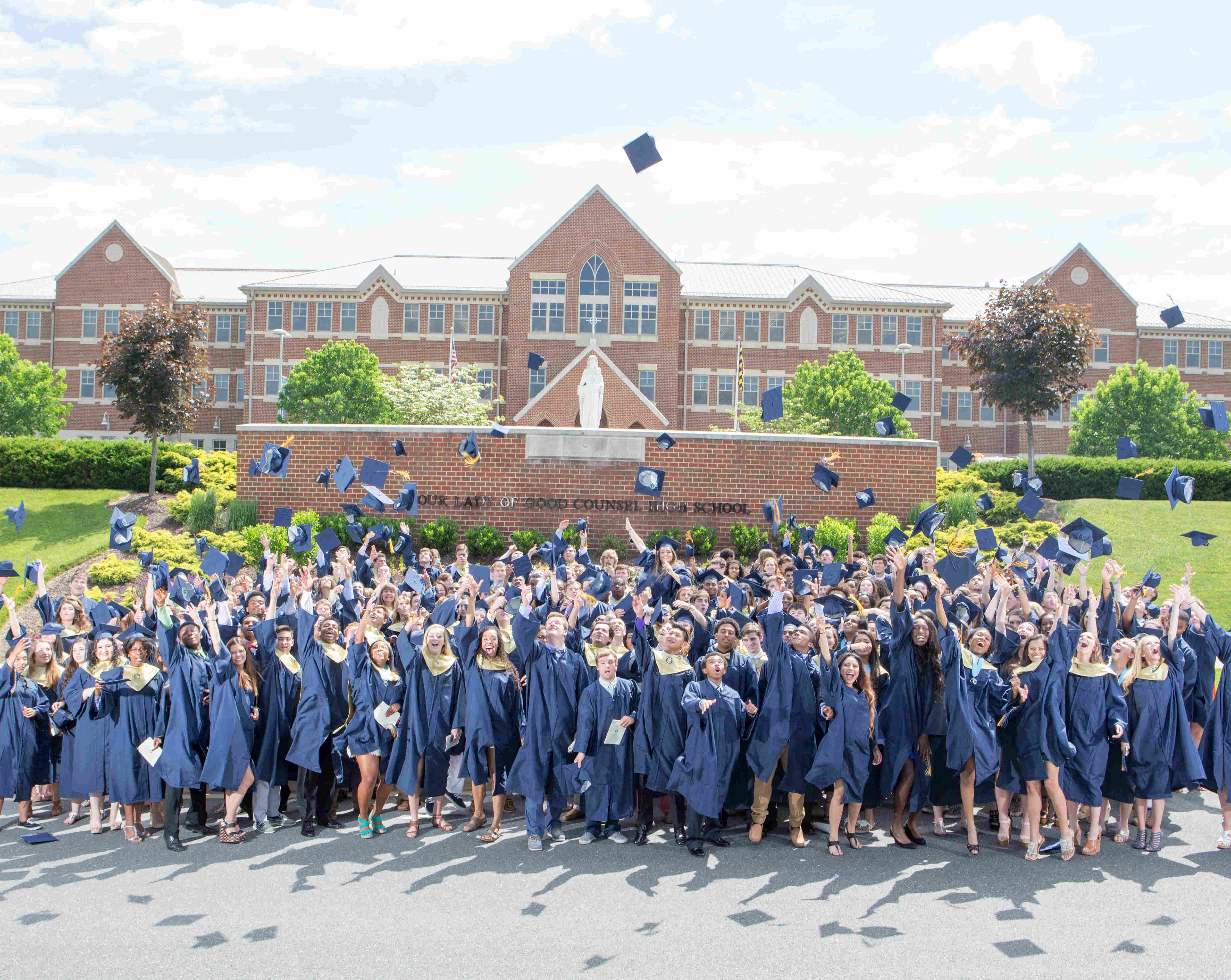 Our Lady of Good Counsel High School Graduation